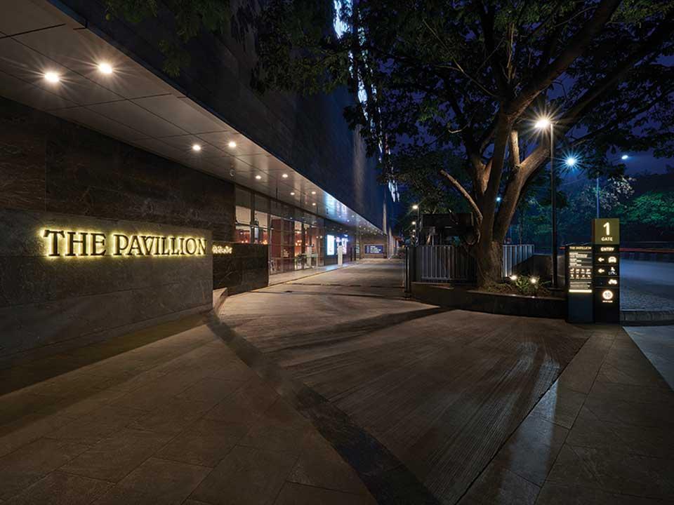The Pavillion. Shot on location