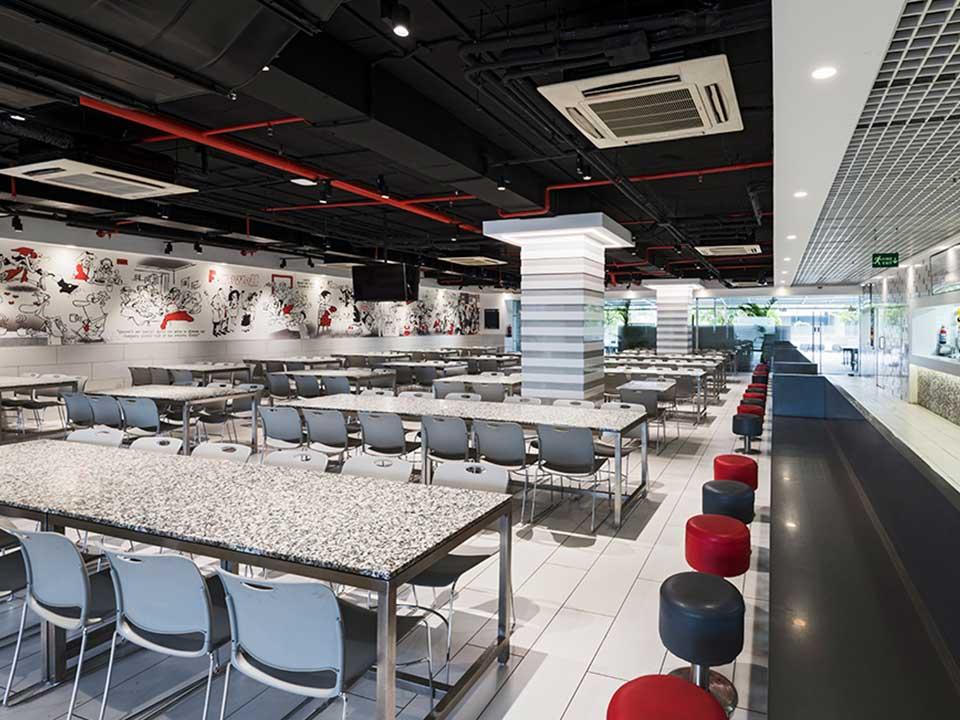 Cafeteria Indoor Seating